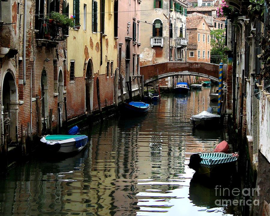 A Calm Venice Canal  Photograph