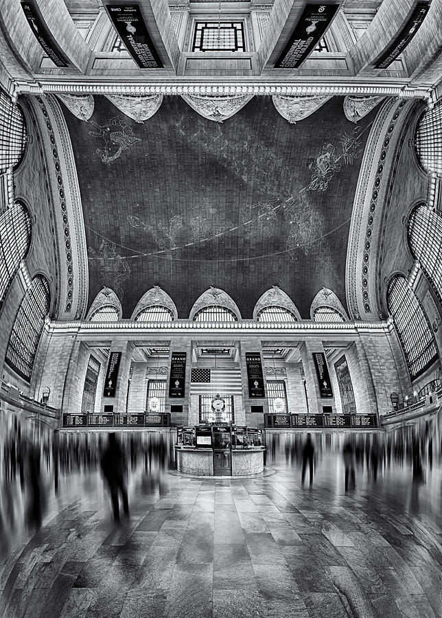 A Central View Bw Photograph