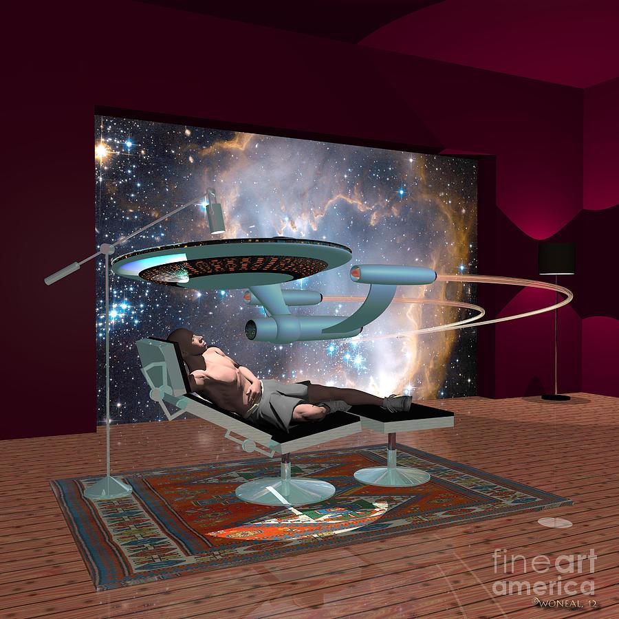 A Cgi Artist Dreams Digital Art