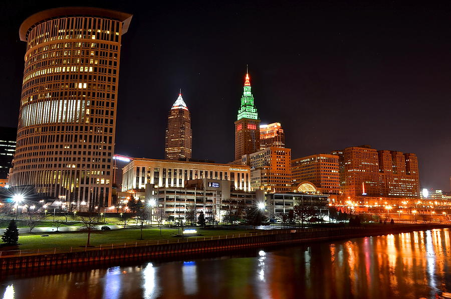 A Cleveland Night Photograph