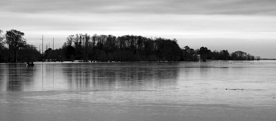 Bay Photograph - A Cold Winters Day by Carolyn Ricks