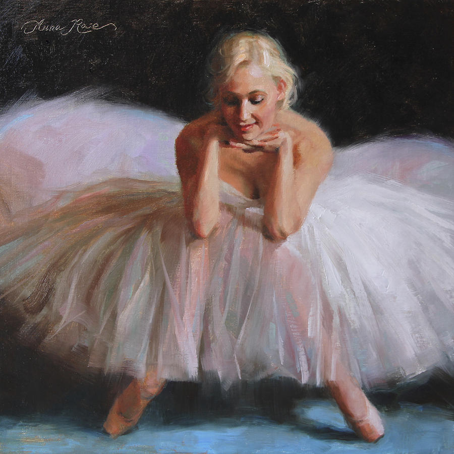 Ballet Painting - A Dancers Ode To Marilyn by Anna Rose Bain