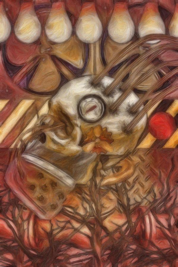 A Dark Machine Painting