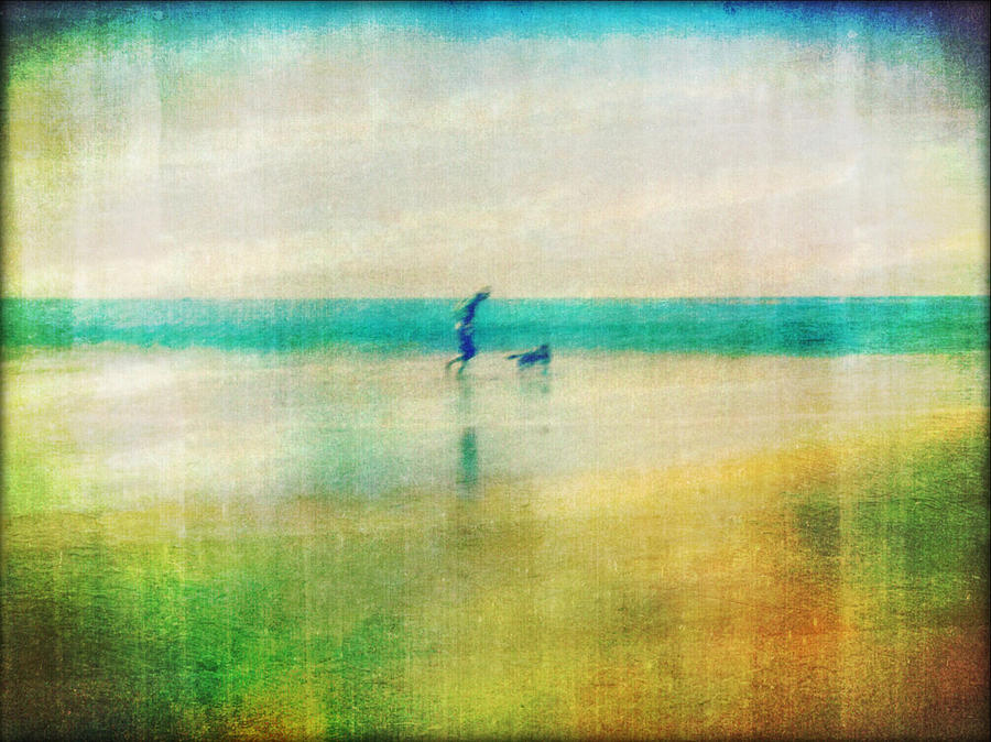 Ocean Photograph - A Day By The Sea by Suzy Norris