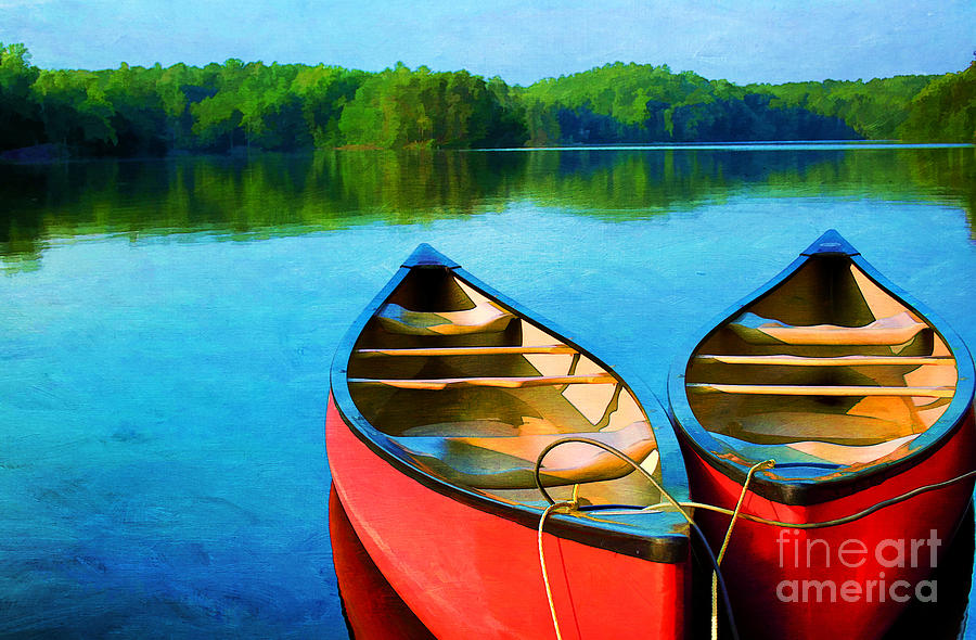 A Day On The Lake Photograph  - A Day On The Lake Fine Art Print