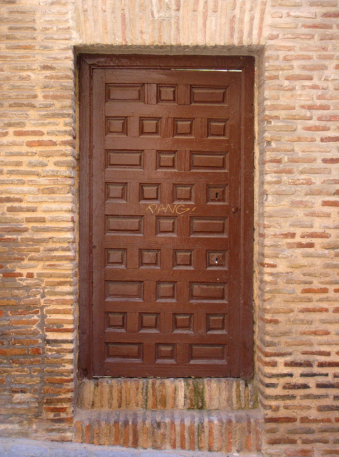 A Door In Toledo Photograph  - A Door In Toledo Fine Art Print