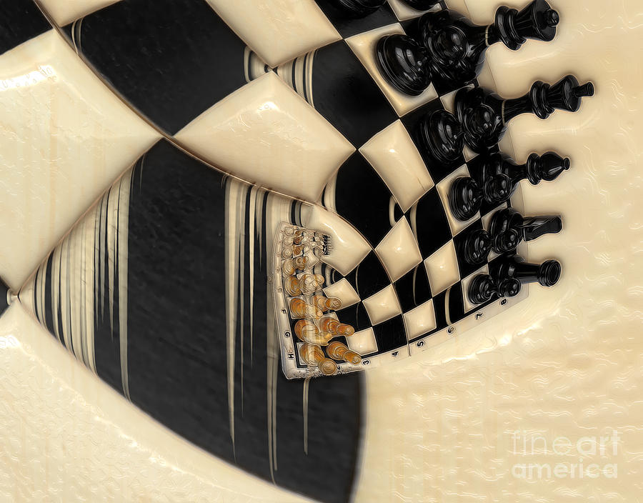 A Game Of Chess Photograph  - A Game Of Chess Fine Art Print