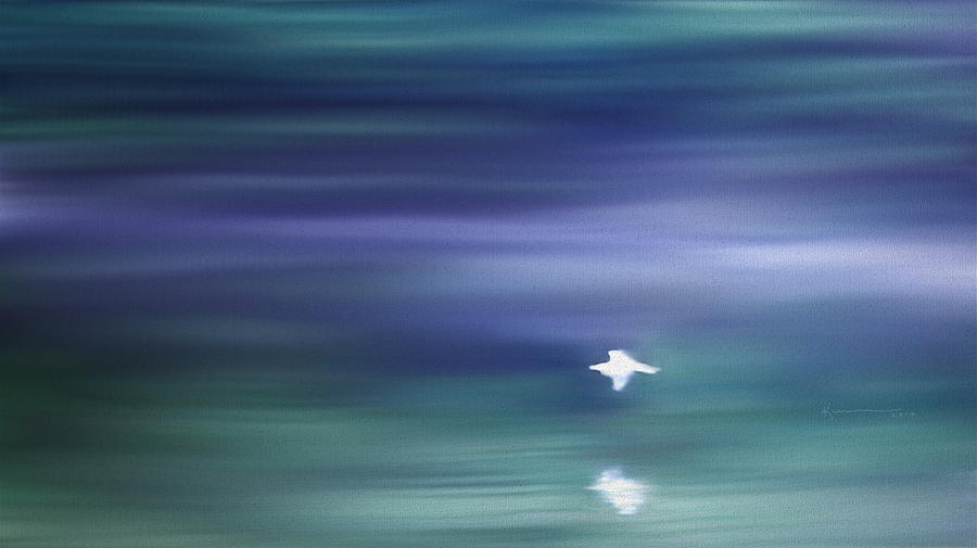 John 14:27 Painting - A Gentle Breeze by Kume Bryant