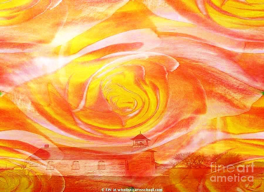 A Glorious God By Painterartistfin Art Print Painting - A Glorious God by PainterArtist FIN