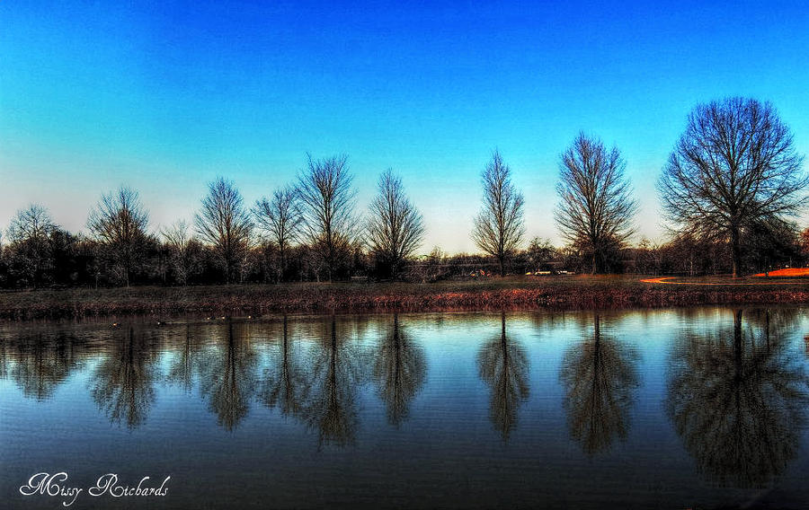 A Good Day To Reflect Photograph  - A Good Day To Reflect Fine Art Print