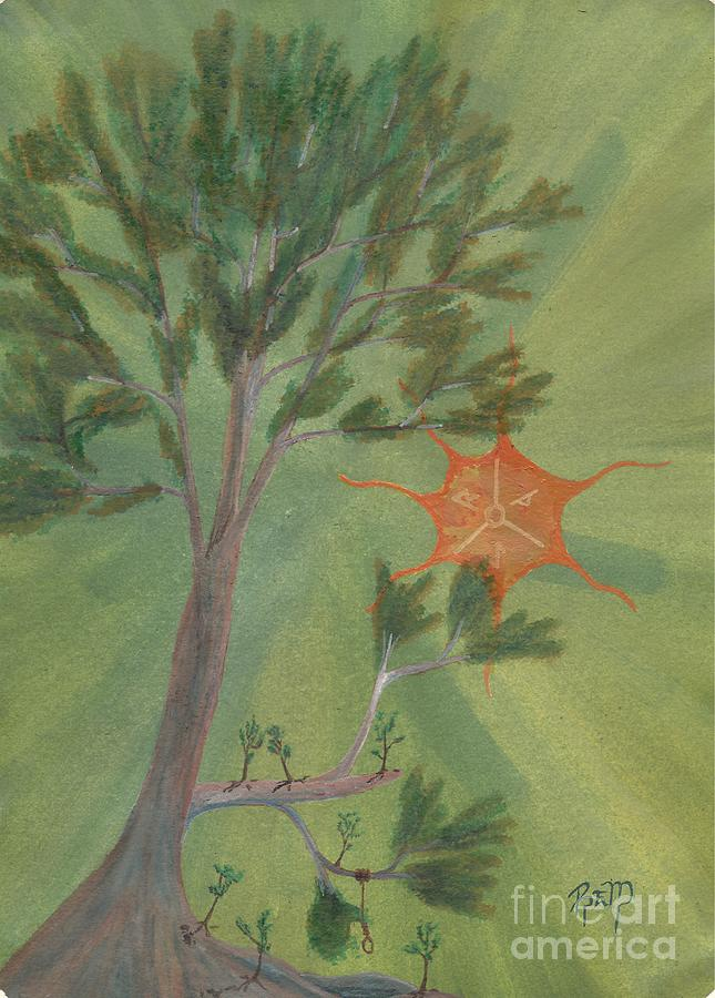 A Great Tree Grows Painting