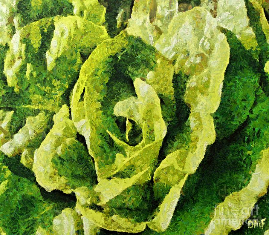 A Green Source Of Vitamins Painting