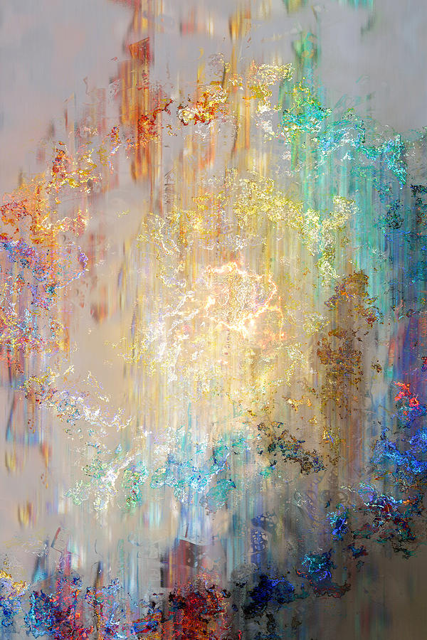 A Heart So Big II - Abstract Art Digital Art