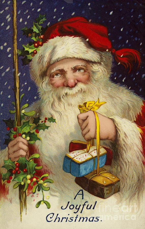 A Joyful Christmas Painting