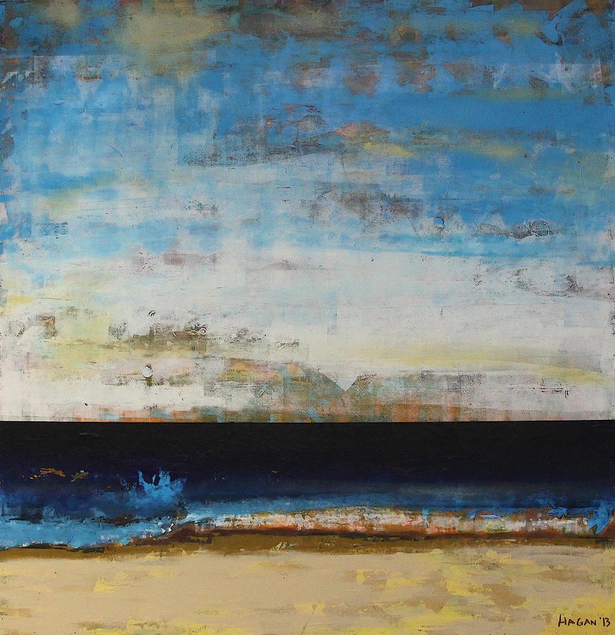 A La Plage Painting