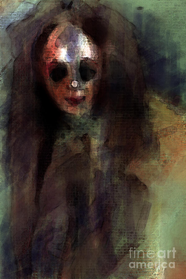 A Little Creepy Digital Art  - A Little Creepy Fine Art Print