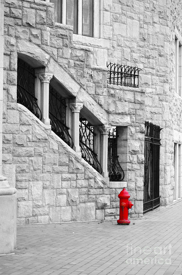 A Little Red Photograph