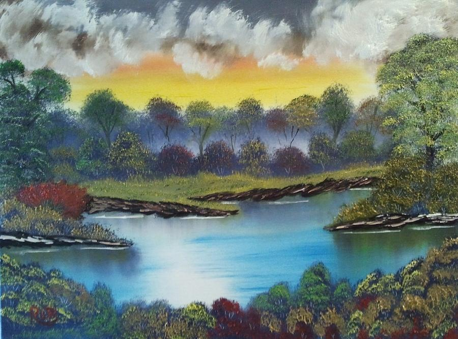 Landscape Painting - A Lovely Day In The Shenandoah by Lee Bowman