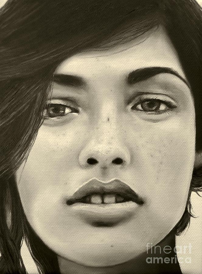 A Mark Of Beauty - Megan Ewing Painting