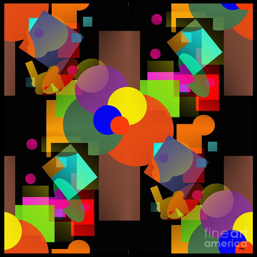 A Matter Of Perspective Too - Series Digital Art