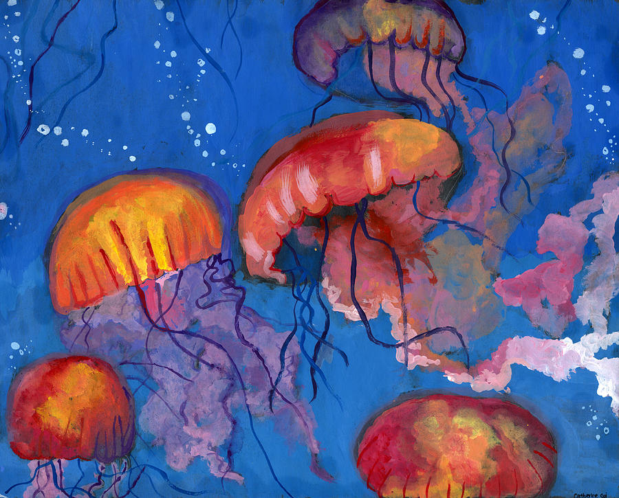 Art - Page 6 A-maze-of-jellyfish-by-catherine-cui-california-coastal-commission