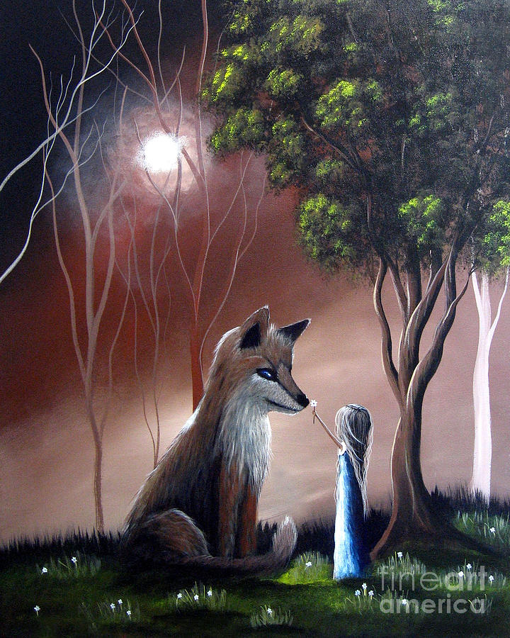 A Midnight Moment By Shawna Erback Painting
