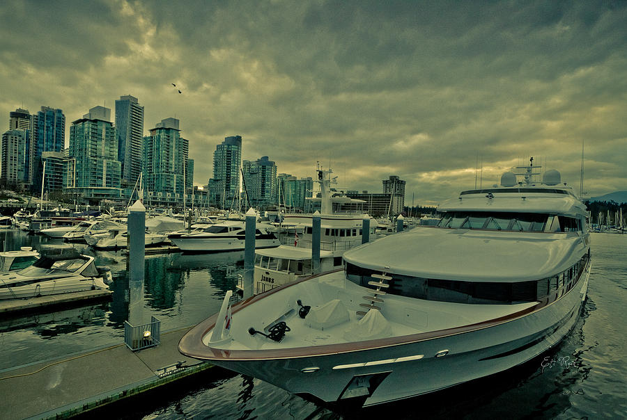 A Million Dollar Ride Yacht  Photograph  - A Million Dollar Ride Yacht  Fine Art Print