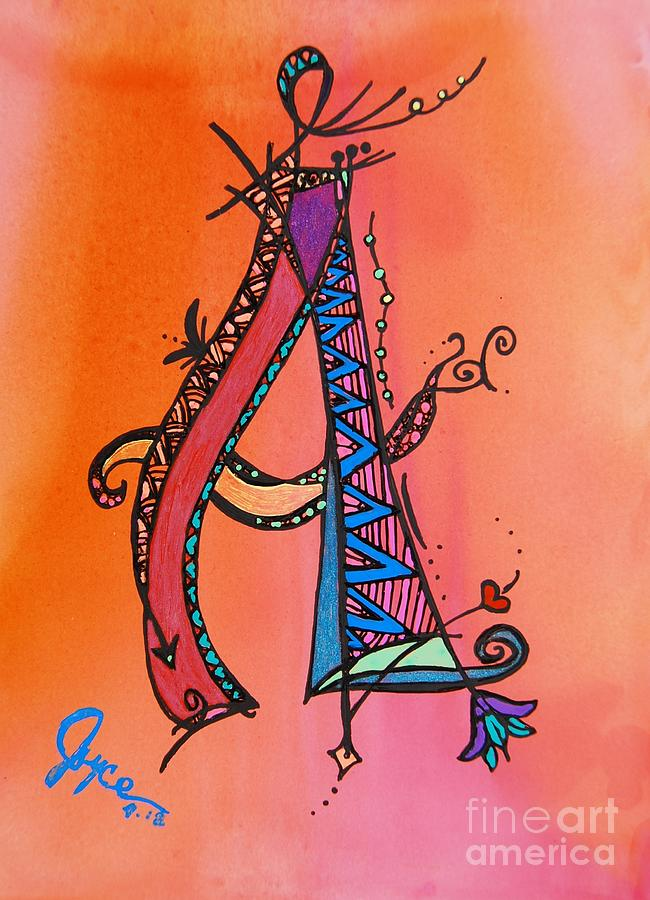 a Monogram Painting
