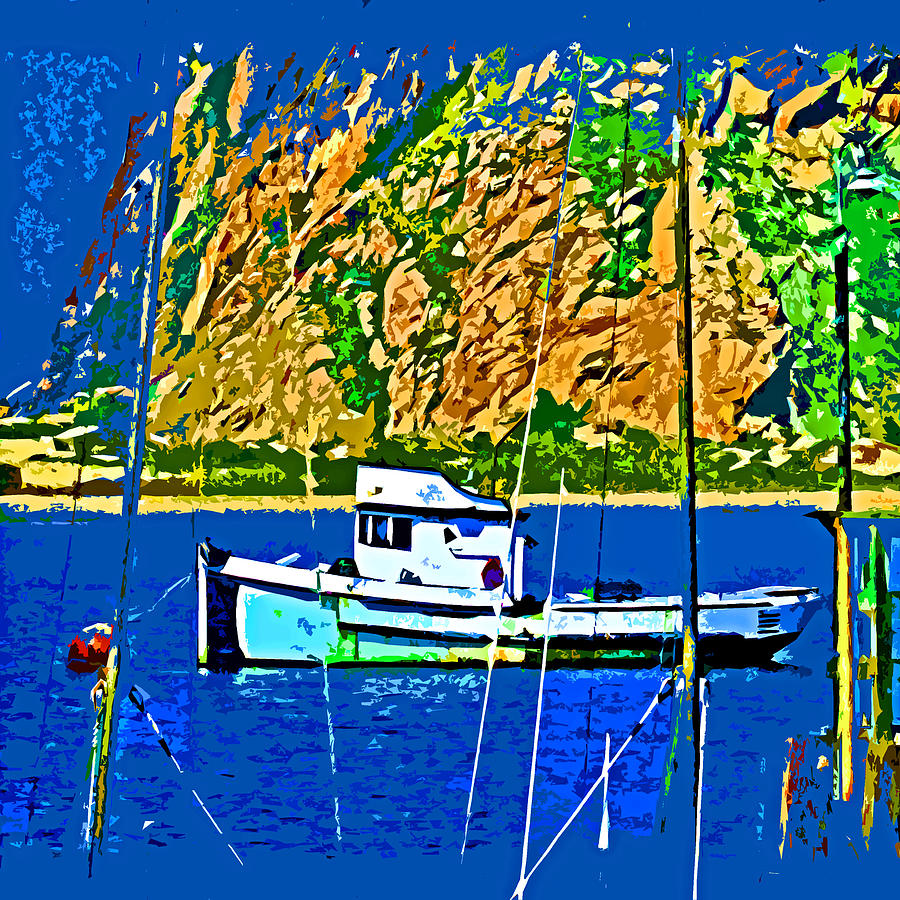 A morro bay fishing boat photograph by joseph coulombe for Morro bay fishing