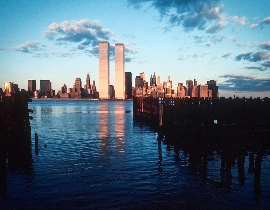 A New York Sunset 1978 Photograph