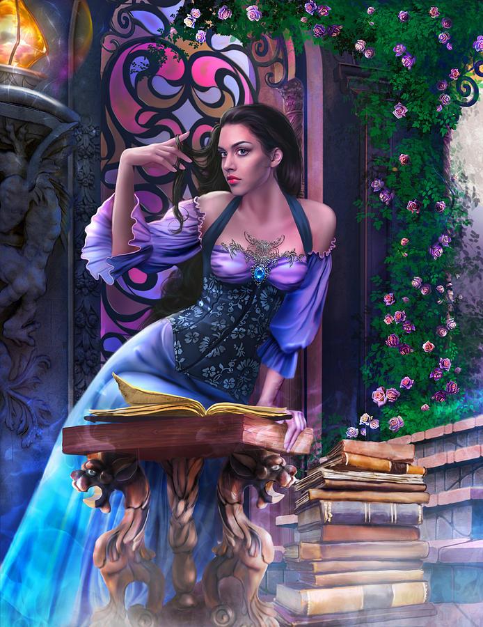 La magia en un libro - Página 4 A-night-for-enchantment-triptych-drazenka-kimpel