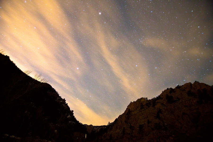 A Night Up The Canyon Photograph