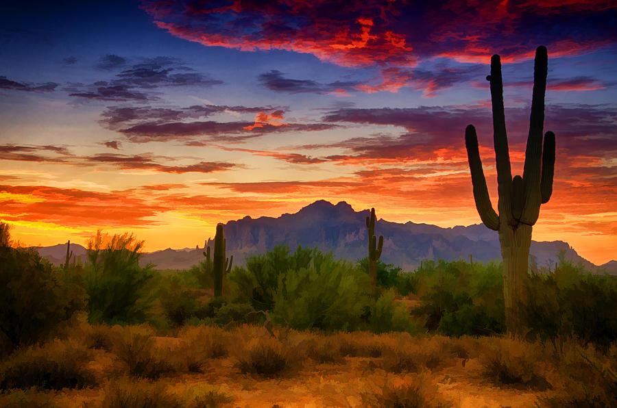 a painted desert photograph by saija lehtonen