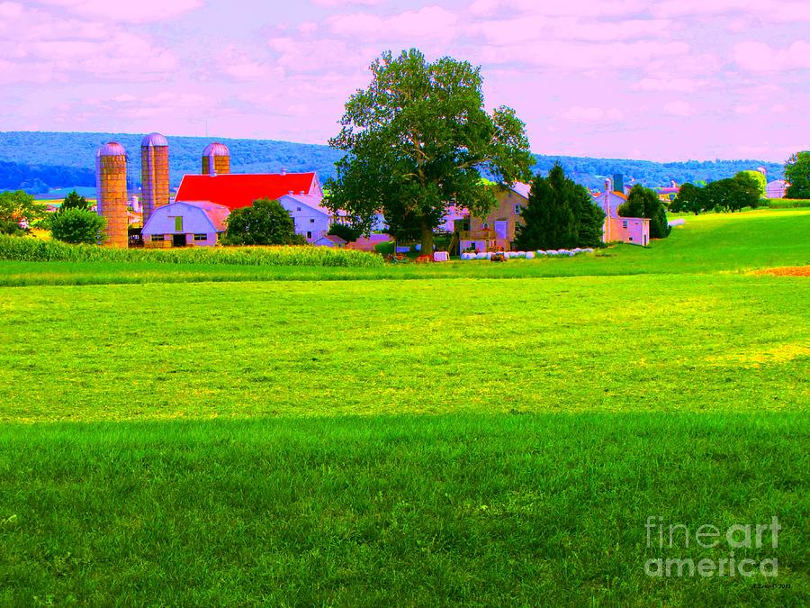 A Pennsylvania Farm Photograph  - A Pennsylvania Farm Fine Art Print