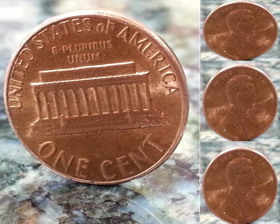 Pennies Photographs Photograph - A Penny For Your Thoughts by Emmy Marie Vickers