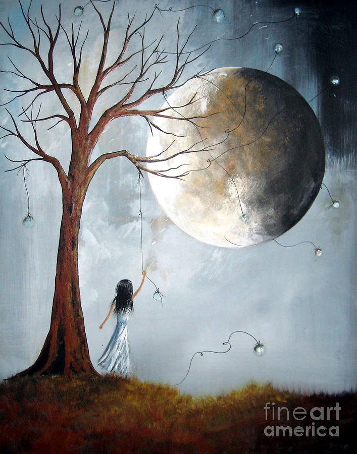 A Perfect Dream By Shawna Erback Painting  - A Perfect Dream By Shawna Erback Fine Art Print