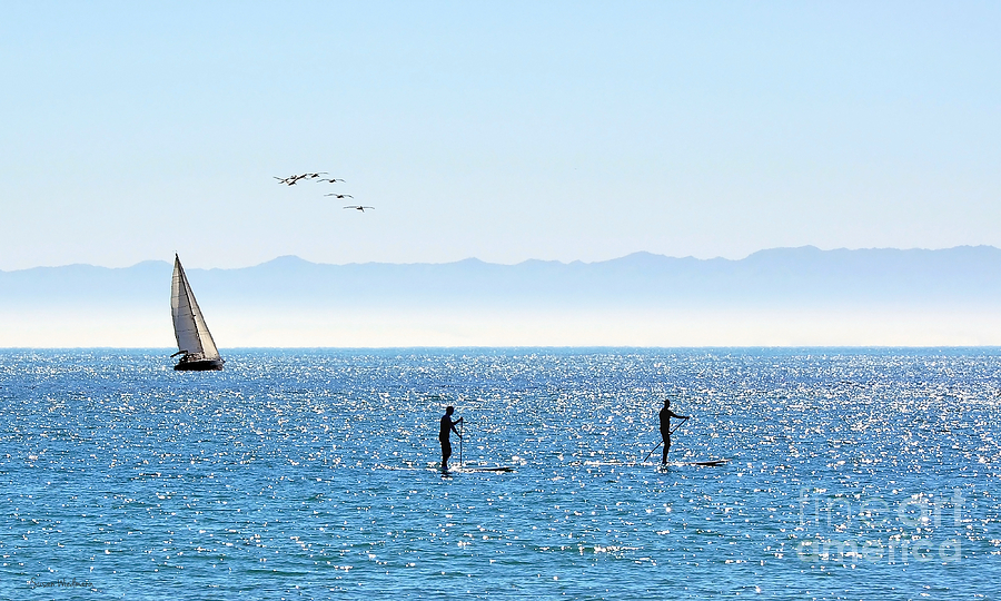 A Perfect Santa Barbara Day Photograph  - A Perfect Santa Barbara Day Fine Art Print