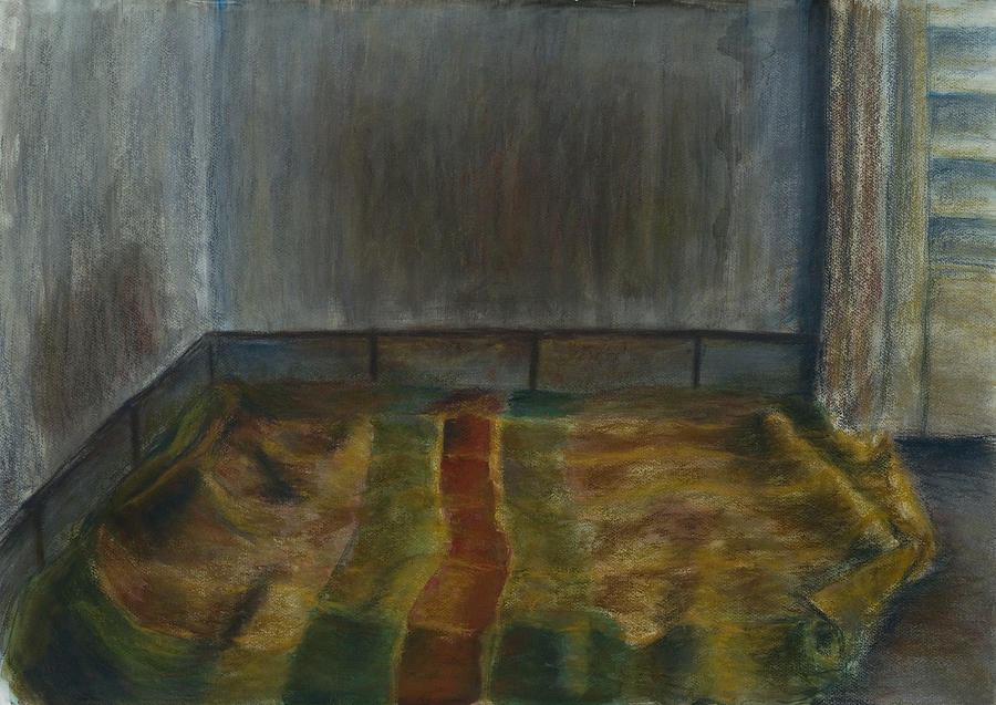 Bed Pastel - A Place For The Dog by Oni Kerrtu