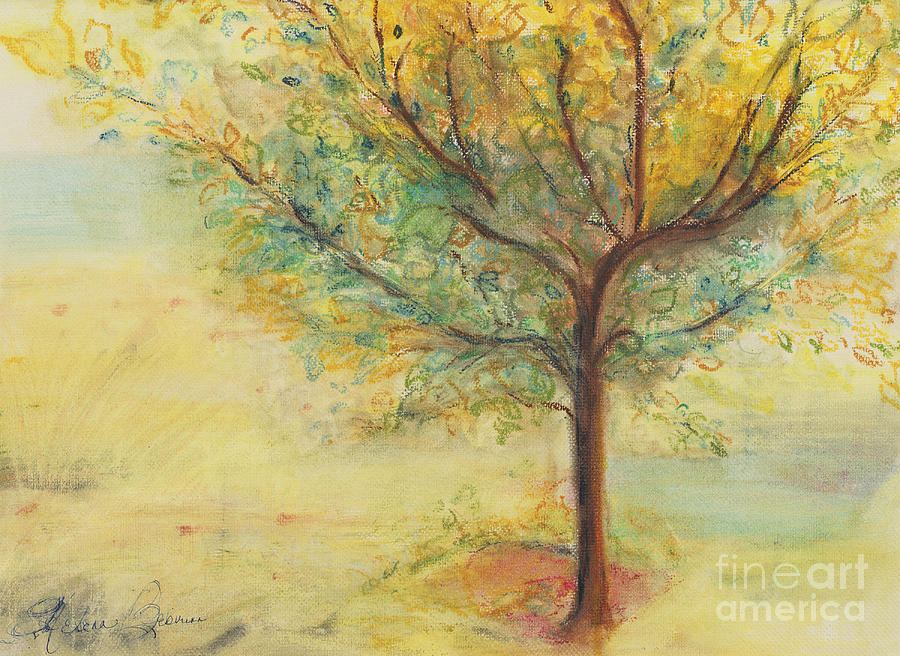A Poem Lovely As A Tree Painting  - A Poem Lovely As A Tree Fine Art Print