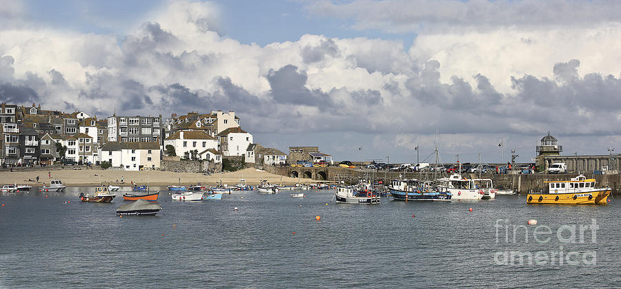 St Ives Photograph - A Postcard From St Ives by Terri Waters
