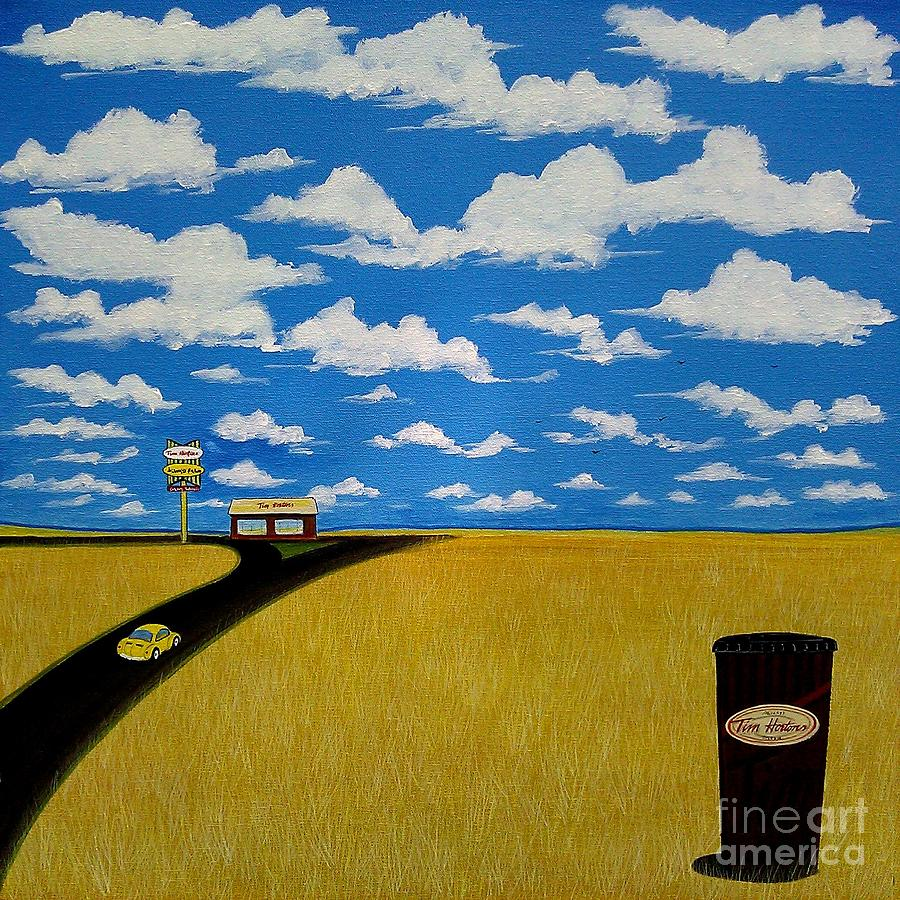 A Prairie Sky Painting