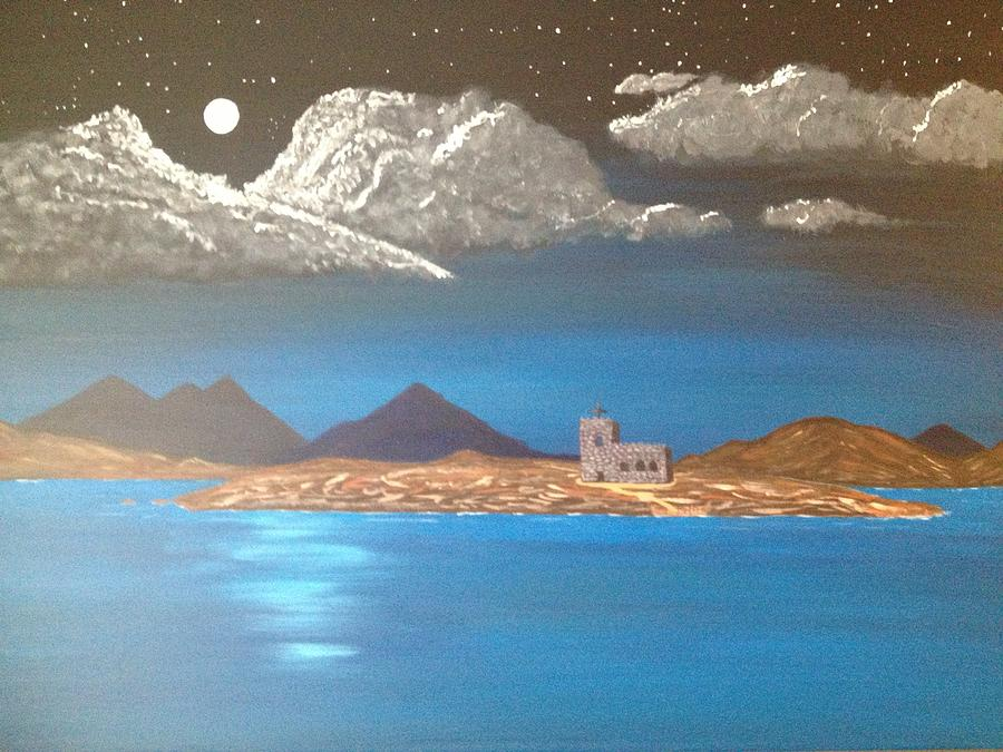 Church Painting - A Prayer In Solitude by Scott Wilmot