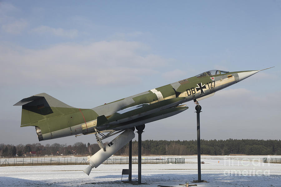 A Preserved F-104g Starfighter Photograph