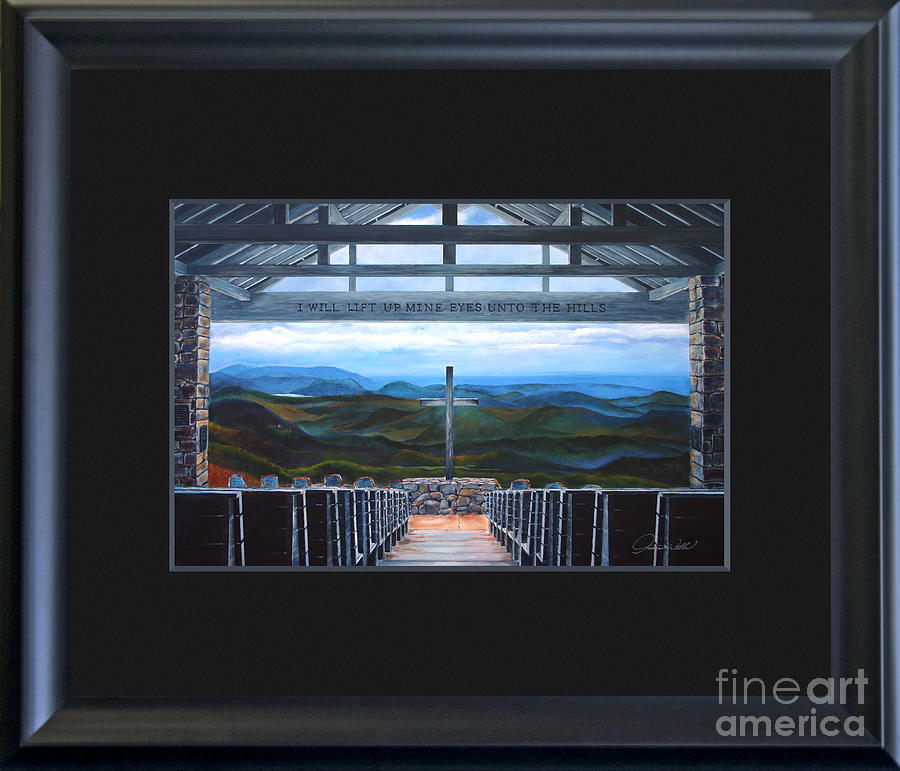 A Pretty Place Custom Framed Fine Art Print For Sale - Offered Direct By The Artist - Sold Painting