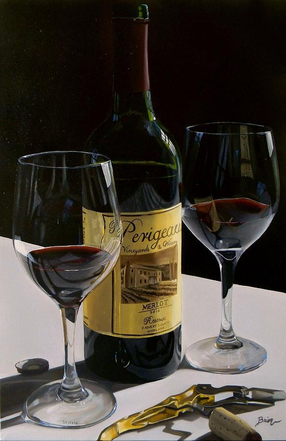 A Private Reserve Painting  - A Private Reserve Fine Art Print