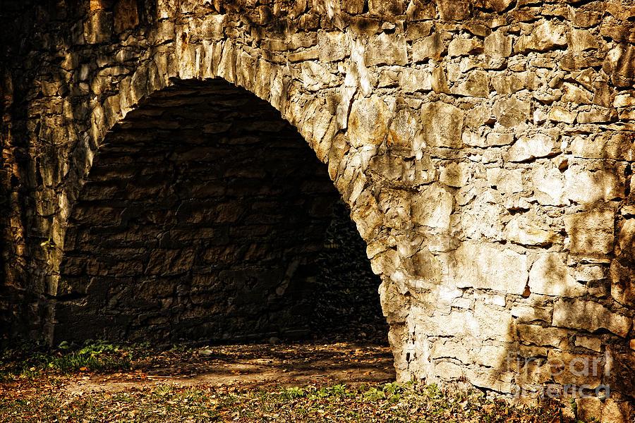 A Quiet Path Through Stone Photograph