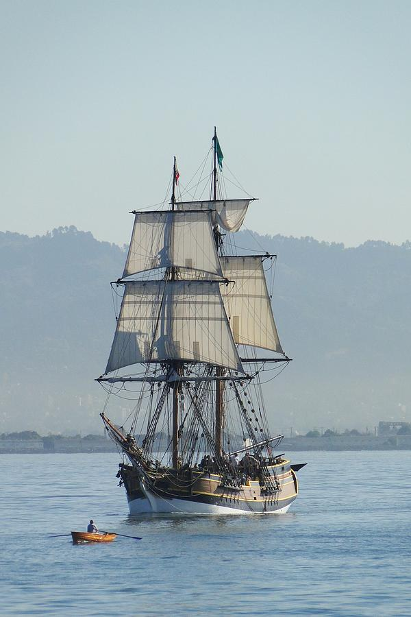 A Row With Lady Washington Photograph