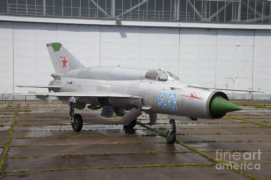 A Russian Mig-21smt Fighter Plane Photograph