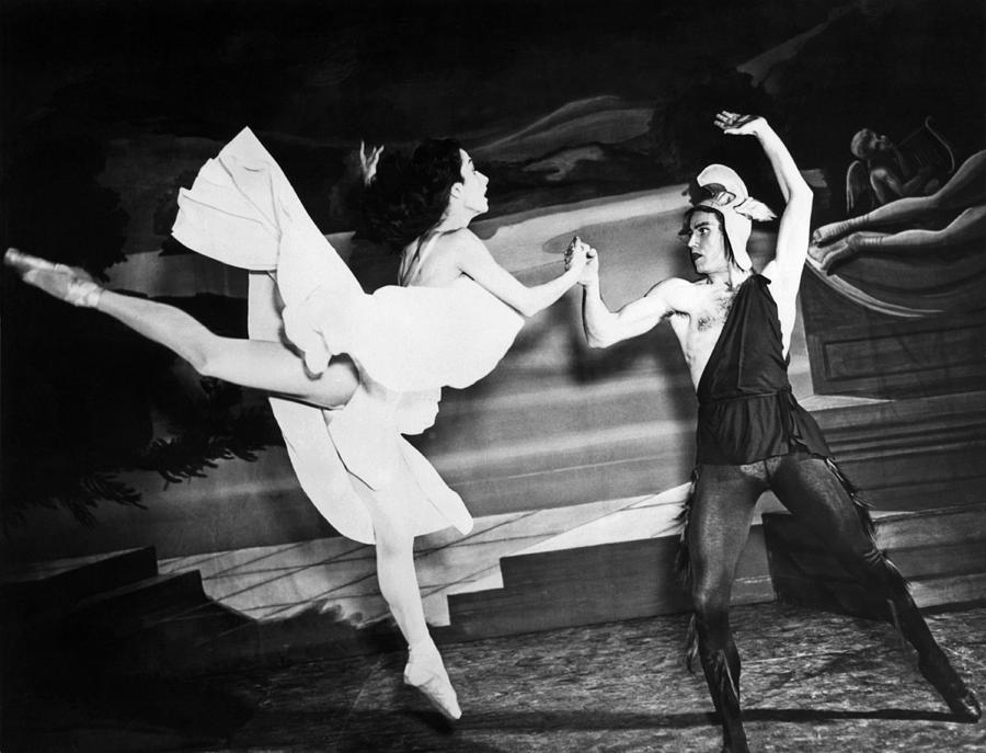 A Scene With The Russian Ballet Photograph