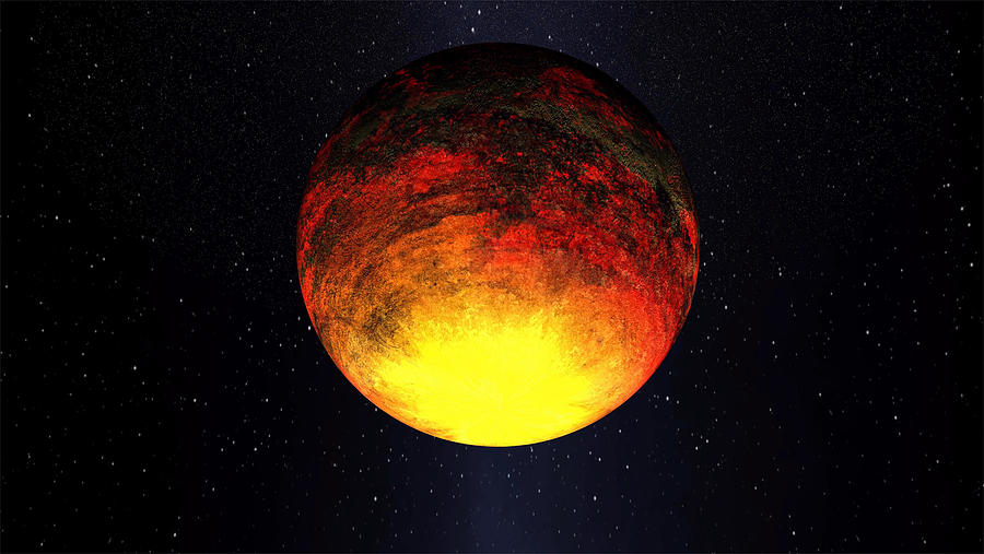 A Scorched World Kepler-10b  Photograph